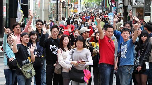 中国旅行社时隔7个月推赴韩随团游