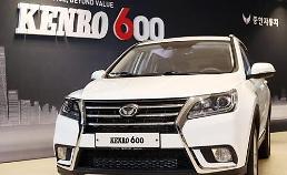 .中国产汽车在韩销售龙头蛇尾销量惨淡.