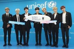 .BTS携手联合国儿童基金会反儿童暴力.