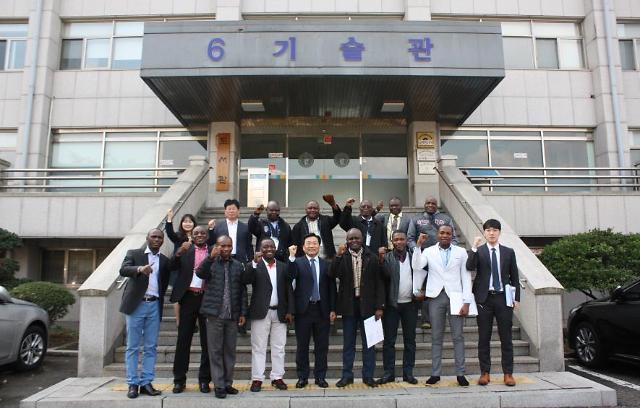 한국폴리텍대학 인천캠퍼스, 아프리카 지역 다국가 초청연수단 방문행사 개최