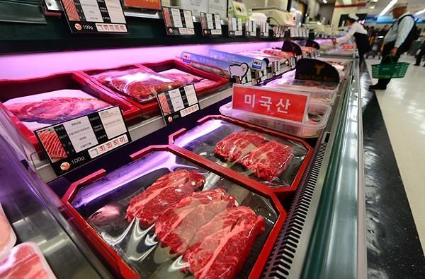 美国牛肉占韩国进口牛肉比重时隔14年再次突破50%