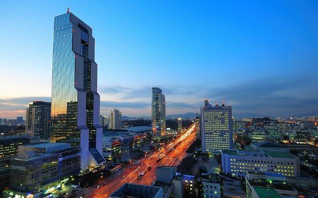 全球写字楼租金哪里最贵 中国香港居首韩国首尔排第51位