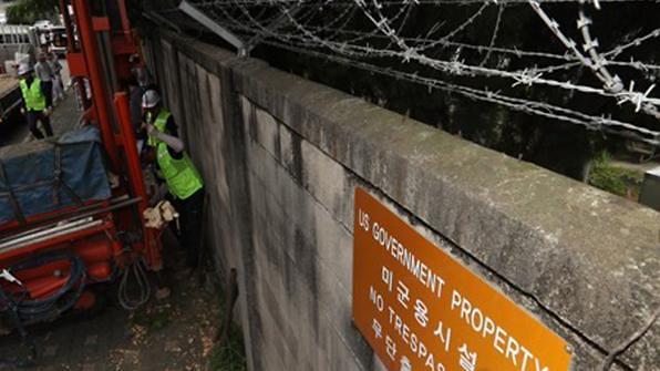 龙山驻韩美军基地地下水污染严重 致癌物最高超标672倍