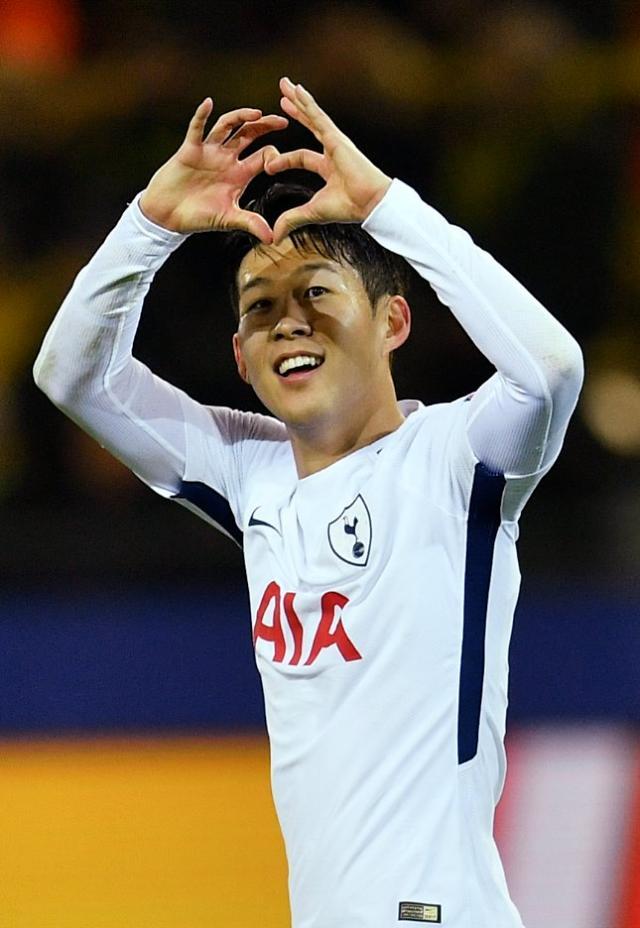 Tottenham Hotspurs Son Heung-min chosen as most popular sports star