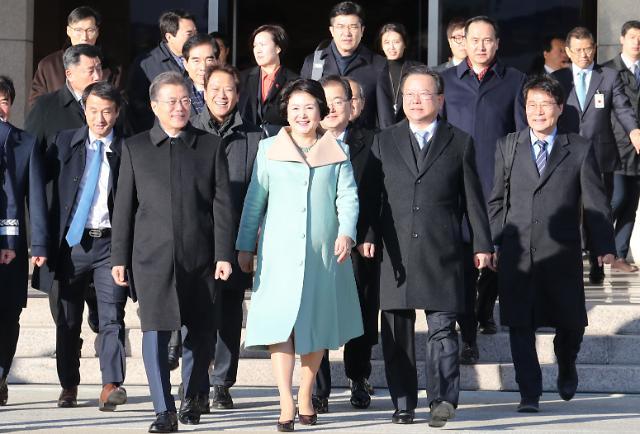 이해찬·박병석·송영길·박정 민주당 의원, 文 대통령 방중 동행