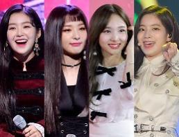 .SBS歌谣大战特级合作舞台 Red Velvet与Twice组成FIN.K.L.