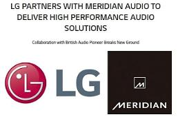 LG teams up with Meridian to produce new audio products