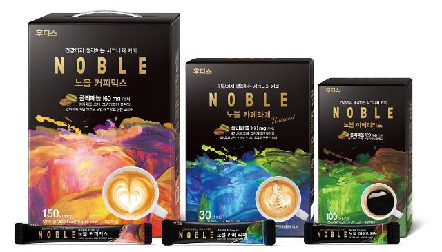일동후디스, 커피사업 도전···노블 스틱 출시