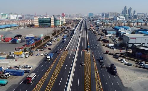 『인천 중구』도로점용료(65억원) 징수 대법원 확정 판결…제2외곽순환(인천~김포)고속도로 건설 관련