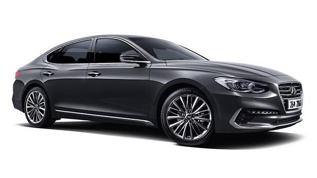韩国五大整车厂商去年销量缩水7% 现代新雅尊一年卖出13万辆最受欢迎