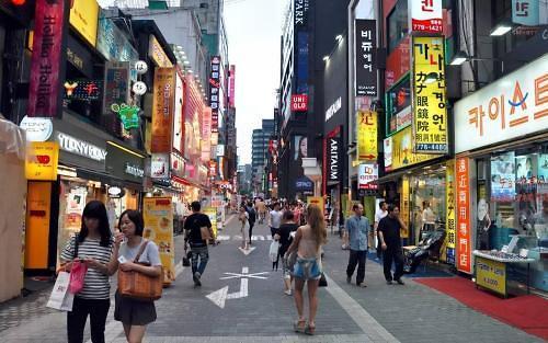 2017年访韩外国游客同比减22.7%