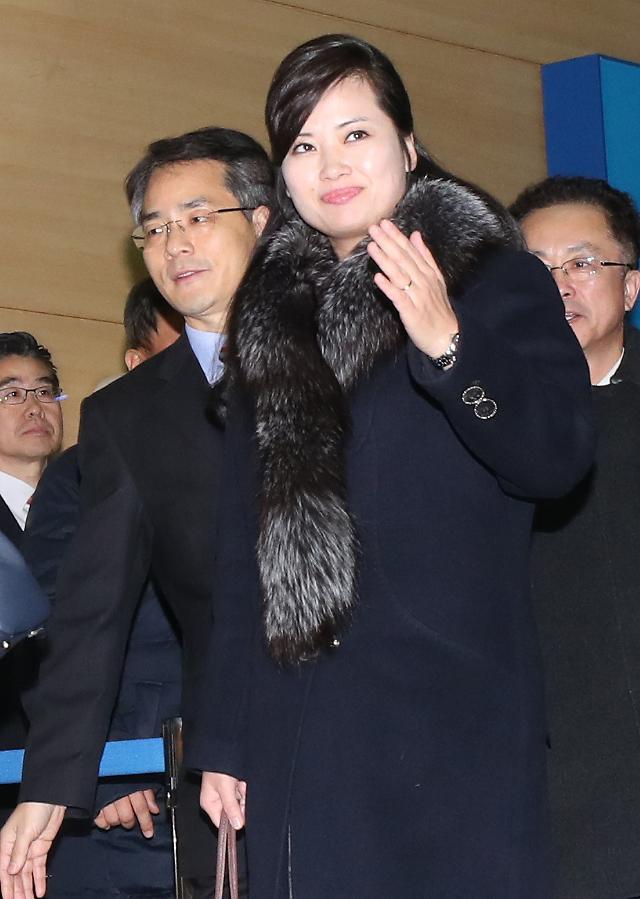 朝鲜冬奥艺术团先遣队结束访韩之行