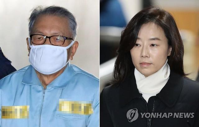 문화계 블랙리스트 2심, 김기춘 징역 4년·조윤선 2년