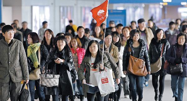 去年12月访韩中国人数环比增10%