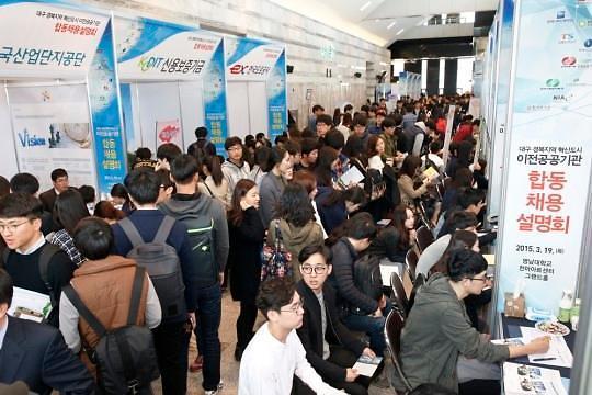 去年韩公共企业招聘2.2万人 创历史新高