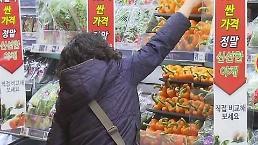 .韩1月CPI同比上涨1.0%.