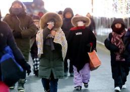 .平昌冬奥开幕式赛场体感温度零下10度 气象厅提醒观众注意防寒保暖.