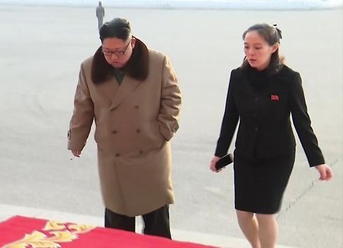 朝鲜通知金与正一行明乘专机抵韩