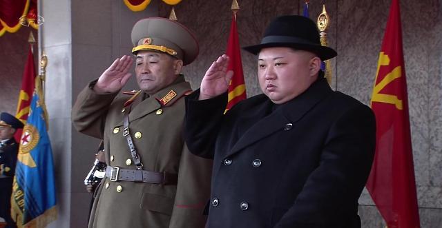 金正恩建军节阅兵讲话:民族尊严和国家自主权不容侵犯