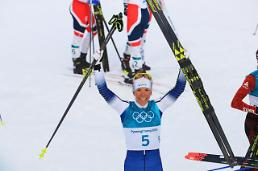 [OLY] Swedish cross-country skier Kalla wins 1st gold medal: Yonhap