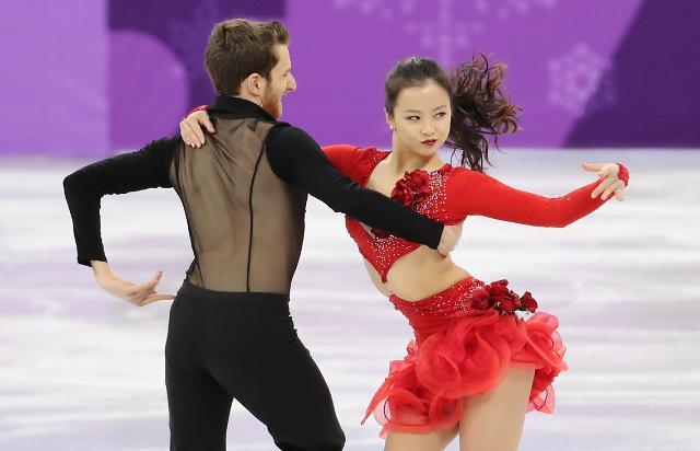 韩国组合出战花滑短节目 排名第9位积2分