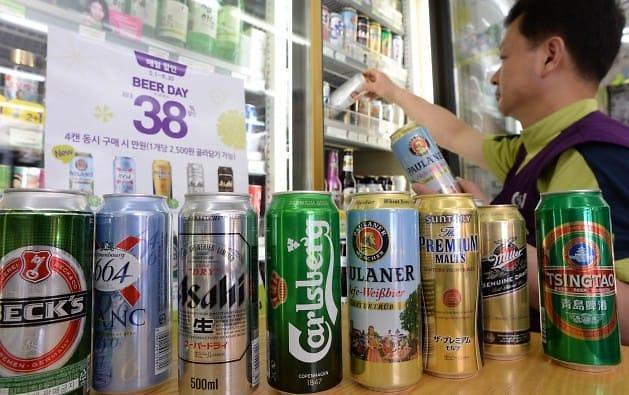 喝着啤酒看比赛 平昌冬奥会拉动韩便利店销售大涨