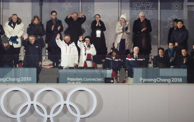 韩正与金永南冬奥期间举行会晤