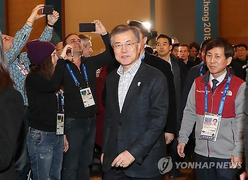 文在寅:各方对韩朝首脑会谈期望过大过急