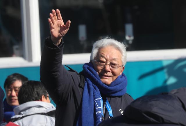 朝籍IOC委员张雄启程返回朝鲜