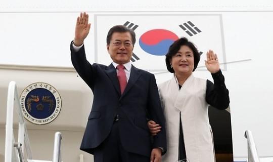 韩国总统的专机是租的 国会不给拨款买