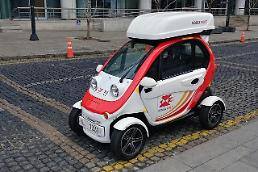 Electric vehicles replace delivery motorcycles for S. Korean postal workers