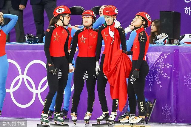 """速滑女子3000米接力中国被判犯规争议大 """"裁判请秉持一致的判罚标准"""""""