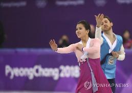 .[OLY] S. Korean ice dancers start raising funds for Beijing Olympics: Yonhap.