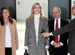 Ivanka hopes to show strong and enduring commitment to South Korea