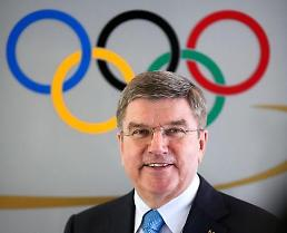 .[OLY] IOC head supports momentum for dialogue: Yonhap.