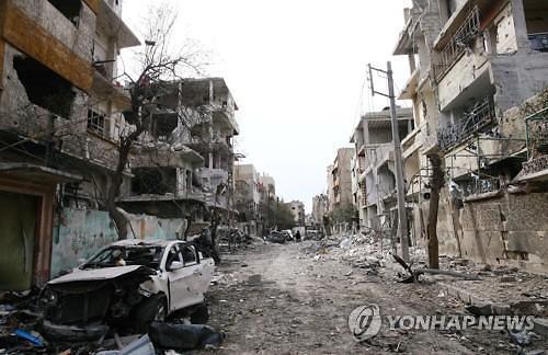 유엔 안보리 결의에도 시리아 공습 계속...어린이 등 14명 사망 충격