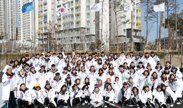 平昌冬奥韩国体育代表团今解散