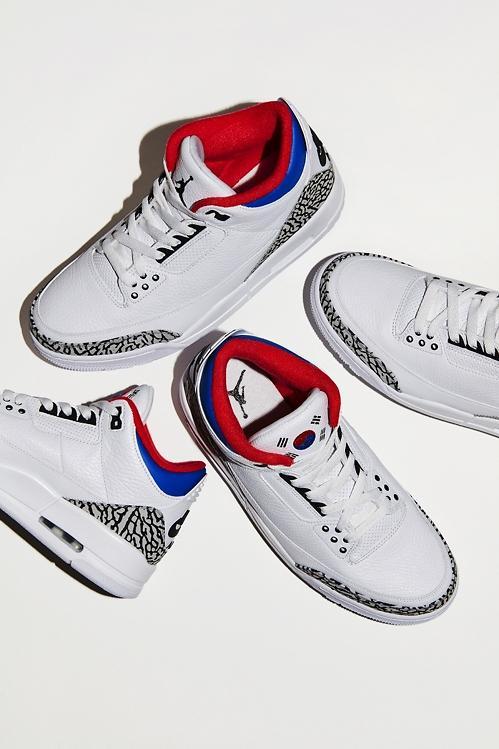 """耐克在韩发售限量版乔丹篮球鞋""""Air Jordan III Seoul"""""""
