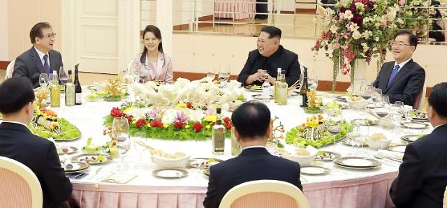 韩总统特使团与金正恩会晤 或商定举行南北首脑会谈