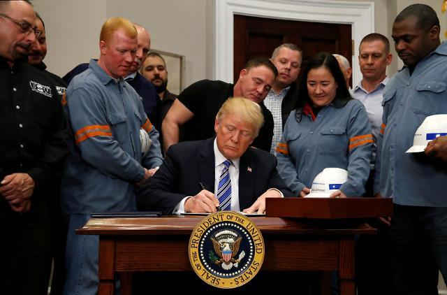 专家:美国对进口钢铁征收高额关税将对韩出口造成2.5万亿韩元损失