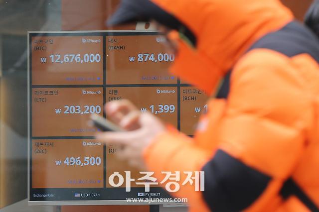 오락가락 비트코인, 1000만원 재탈환