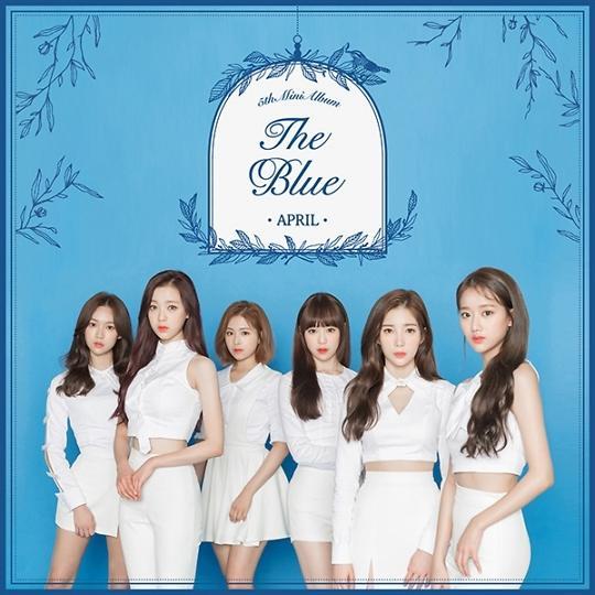 女团APRIL今日发布新专辑《The Blue》