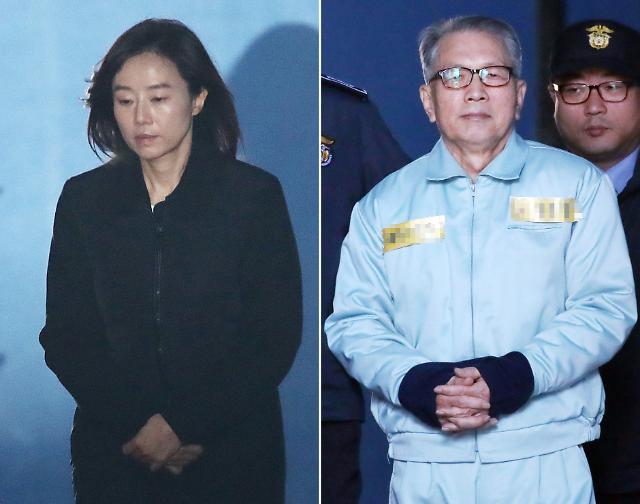 """화이트리스트 김기춘·조윤선, """"범죄 아냐"""" 혐의 부인"""