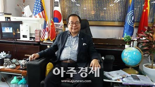 """""""扩大中韩两国交流,推动'一带一路'倡议在韩国落地"""" 亚太交流与合作基金会执行副主席肖武男专访"""