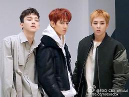 .EXO-CBX本月10日携新辑回归.