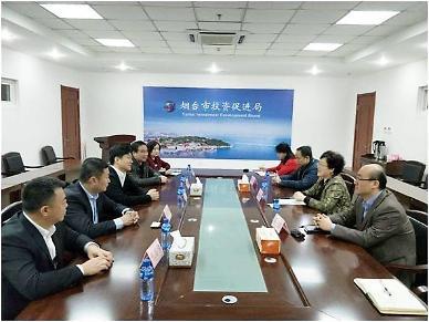 미국 시스코시스템, 중국 국유기업 중젠그룹 옌타이 시찰 [중국 옌타이를 알다(299)]