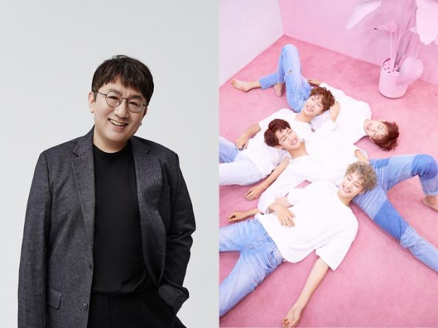 BTS creator produces IZs comeback song