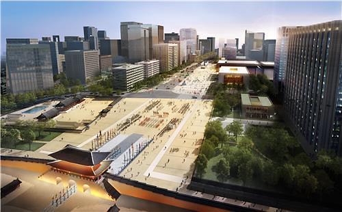 光化门广场2021年焕新颜 面积将扩大近4倍