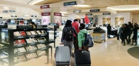 访韩中国游客时隔13个月同比增加