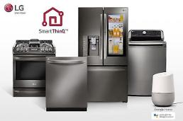 .LGs home appliances support Google and Amazons AI assistant.